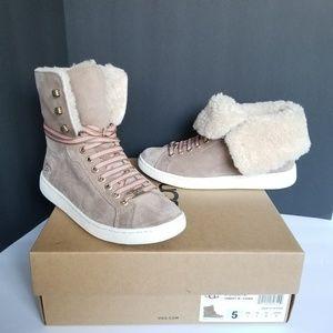 UGG Starlyn Suede Sneakers.